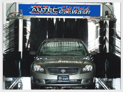 AES-220 Economy Fleet Car Wash System